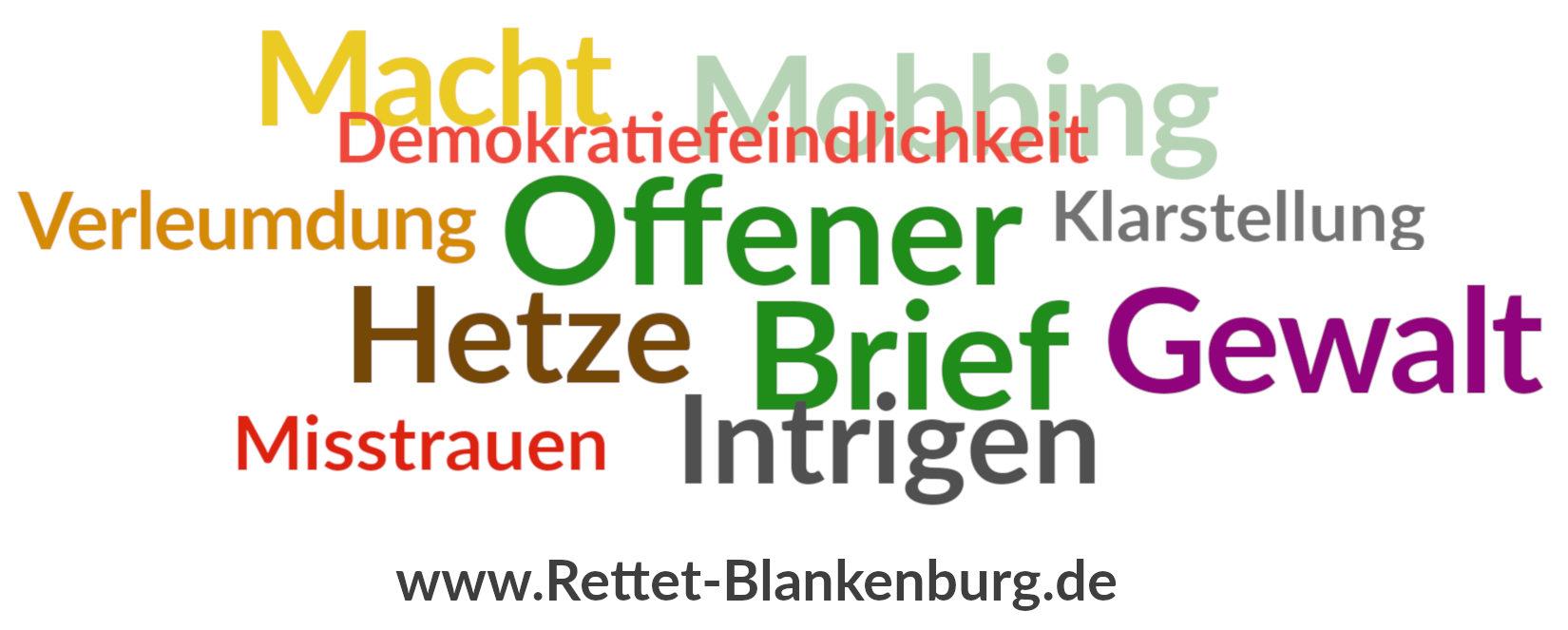 RUNDER TISCH BLANKENBURG ! RETTET BLANKENBURG !
